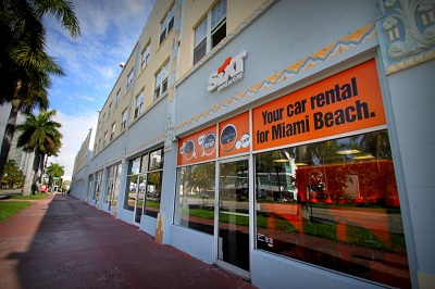 Sixt Autovermietung in Miami Beach