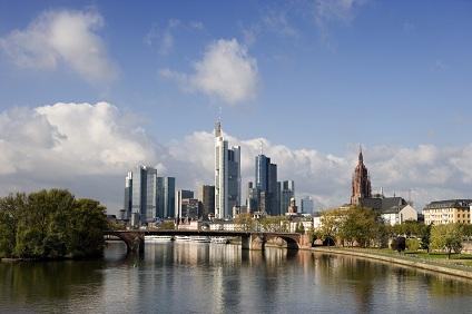 Frankfurt am Main, eine von vielen deutschen Gro�st�dten mit einer Sixt Autovermietung