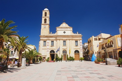 Orthodoxe Kirche Stadtplatz Chania