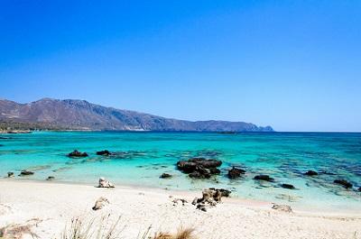 An den Strand von Elafonissi mit Ihrem Sixt Mietwagen
