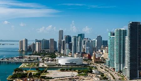 Downtown Miami erkunden mit dem Sixt Mietwagen