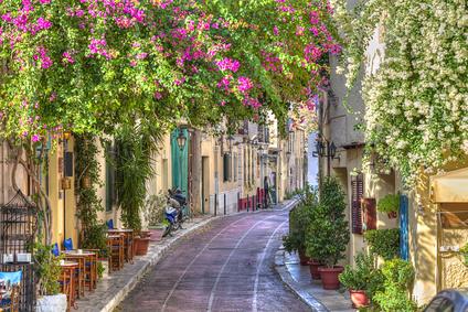 Athen - Plaka, vieille ville d'Athènes