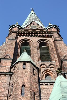 Die St Nikolai Kirche ist eine zauberhafte Kirche in unmittelbarer Nähe der Sixt Autovermietung Elmshorn