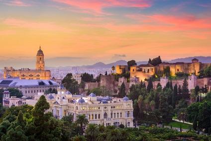 Stadt Malaga