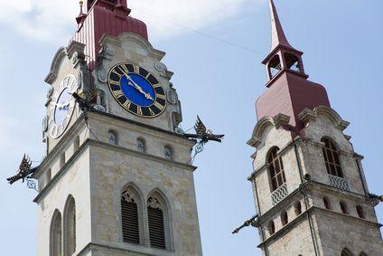 Kirchenplatz Winterthur City
