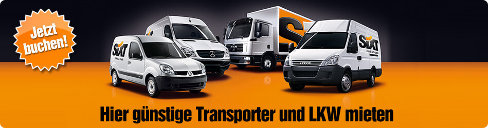 transporter mieten lkw vermietung deutschland. Black Bedroom Furniture Sets. Home Design Ideas