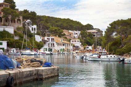 Cala Figuera, der sch�nste Hafen Mallorcas