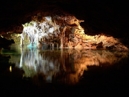 Cuevas de Artà, die größte Tropfsteinhöhlen Mallorcas