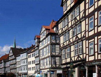 Wundersch�ne H�userfront in Hannover