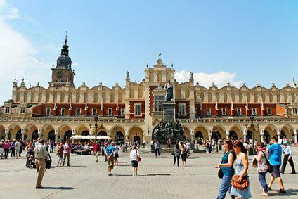 Die polnische Stadt Krakau