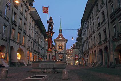 Bern City Sch�tzenbrunnen