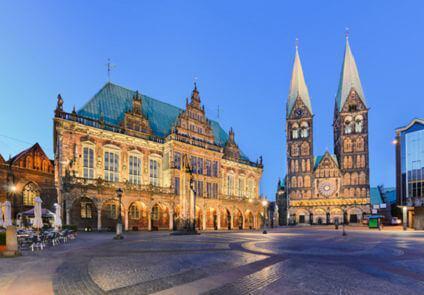 Bremen - Rathaus und Dom