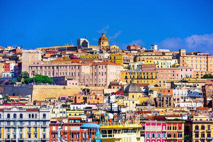 Sardiniens Hauptstadt Cagliari.
