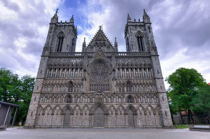 Kathedrale in Trondheim