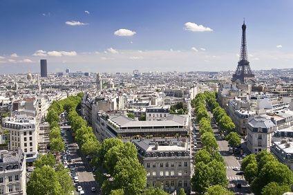 Pariser Stra�en - aufgenommen von Sixt Frankreich
