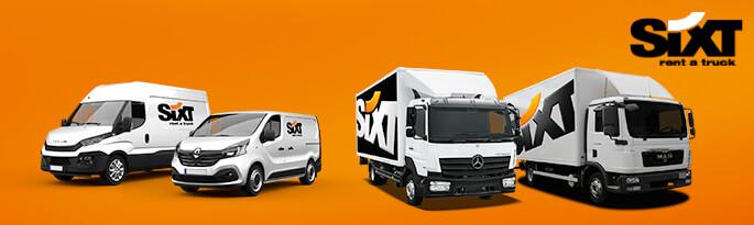 LKW Und Transporter Mieten Ab 2 Euro | Sixt LKW Vermietung