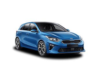 VW Golf, Renault Megane, KIA Ceed