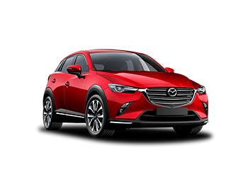 Mazda CX-3 4X4, Toyota C-HR 4X4